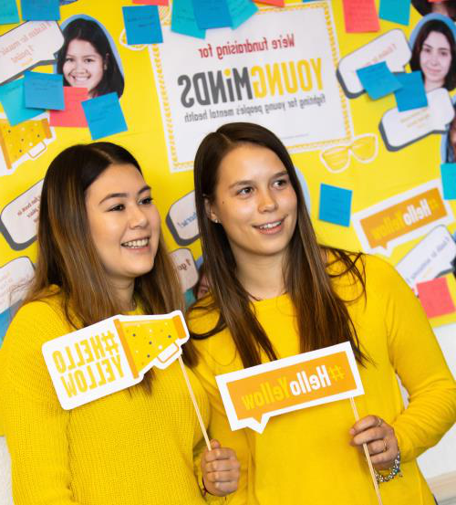 student blog: my experience of #helloyellow day